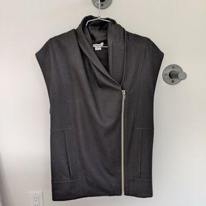 Helmut Lang wool zip vest